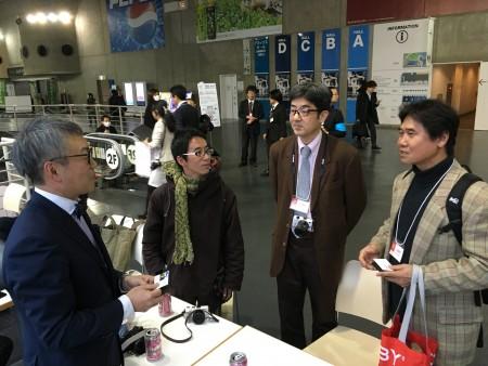 菊池哲男お師匠と斎藤巧一郎さんが出会う。